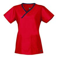 SCRUB TOP by Maevn Uniform Company, Style: 1026-RED